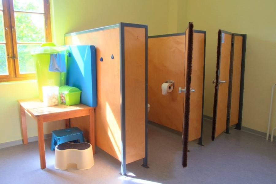 Kindertoilette in der Hoppetosse