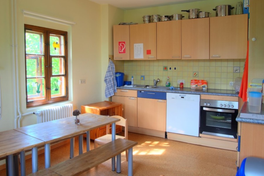 Küche der Hoppetosse