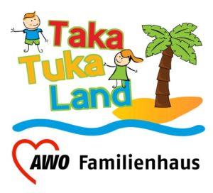 Logo des Famlienhauses Taka Tuka Land