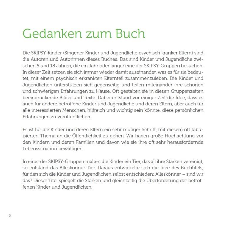 """Skipsy Buch """"Die Alleskönner"""""""