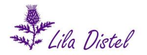 Logo der Lila Distel