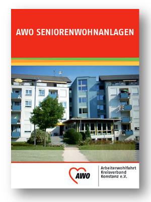 Broschüre der Seniorenwohnanlagen