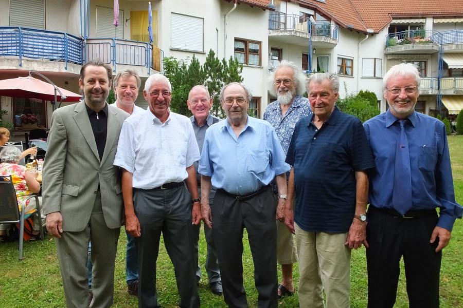 Vorstand des OV Gottmadingen