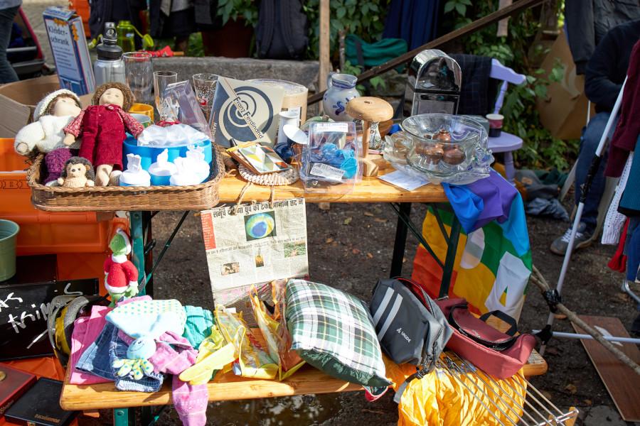 Bilder vom Chérisy Flohmarkt